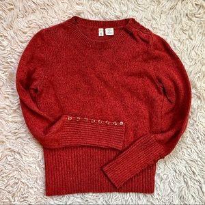 Anthropologie Moth Knit Sweater w/ Button Details